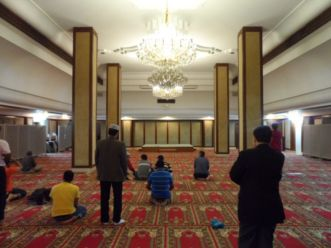 Kowloon Mosque Prayer Hall
