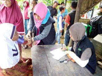 Dompet Dhuafa Melalui LKC Dan LPM Berikan Layanan Kesehatan Gratis Di Pelosok Banten