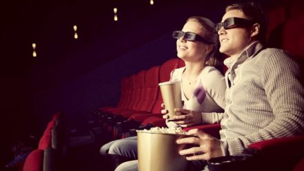 Couple In The Cinema
