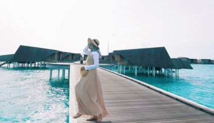 Style Hijab Ala Dian Pelangi - BebasPedia.com