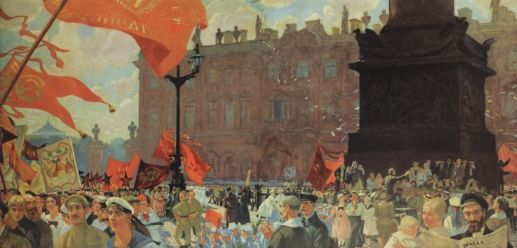 Bolshevik Revolution Painting JOZ USE THIS ONE