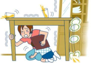 Menyelamatkan diri saat gempa