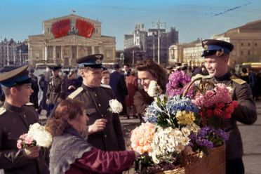 Victory Day In Moscow 1945 Ww2