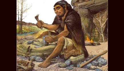 Ilustrasi manusia Neanderthal. arthursclipart.org