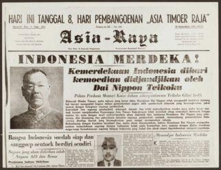 Sebuah Koran yang Terbit Setelah Deklarasi Koiso