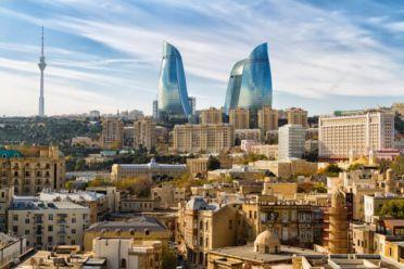 Panoramic View Baku Azerbaijan Shutterstock 544217959