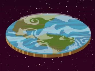 Flat Earth Disc Vector Id1015694906 1024x768