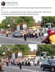 Polisi Bagi Takjil Min