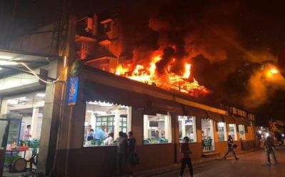 Restoran Terbakar Min
