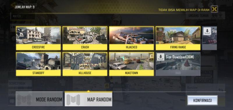 Peta Permainan Yang Beragam