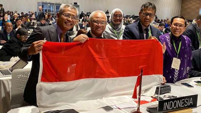 5df2d01097181 Delegasi Indonesia Dalam Sidang Unesco Di Kolombia 663 372