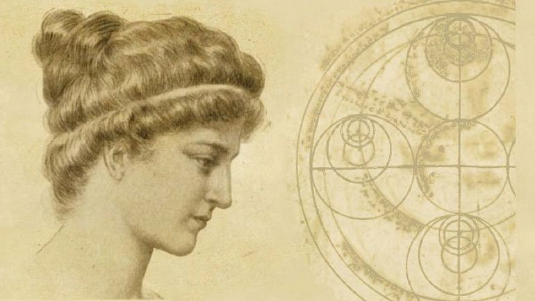 Hypatia Great Female Philosopher Alexandria