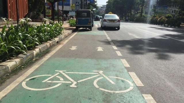 Alasan Pesepeda Malas Menggunakan Jalur Sepeda