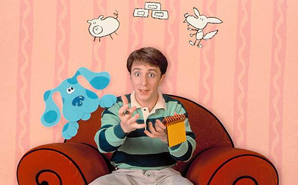 Steve Burns Blues Clues