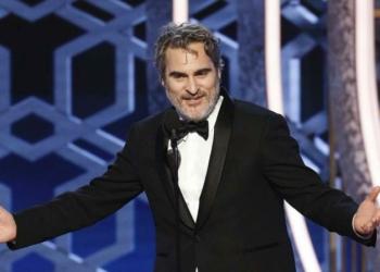 Joaquin Phoenix Golden Globes