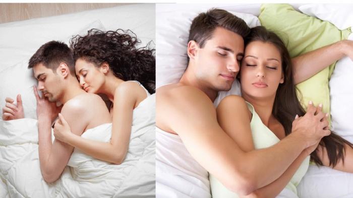 Tidur Sama Pasangan - Posisi Tidur