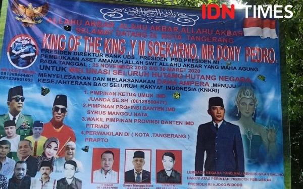 Muncul Kerajaan Baru Di Tangerang, King of The King Yang Memiliki Harta 60.000 Triliun