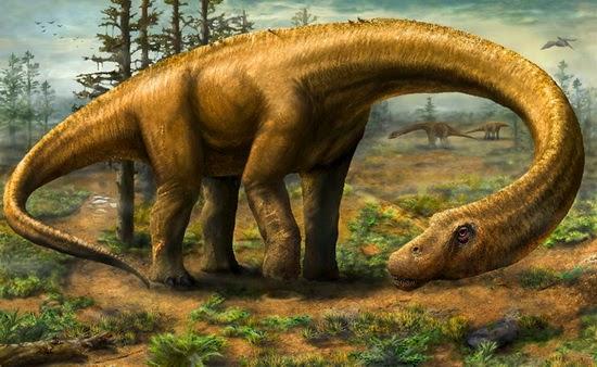 Www.LaporanPenelitian.com Dinosaurus Sauropoda Raksasa Dreadnoughtus Schrani 1