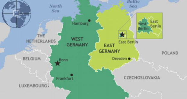 East West Germany