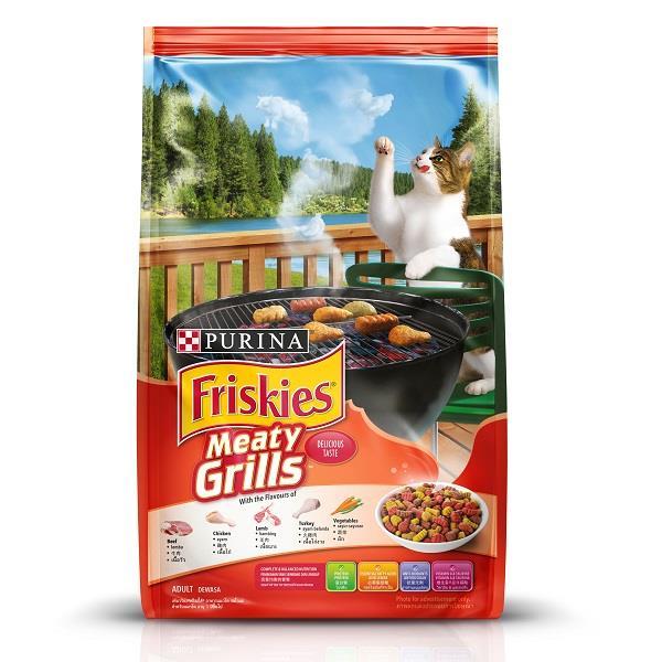 Friskies - Makanan kucing terbaik