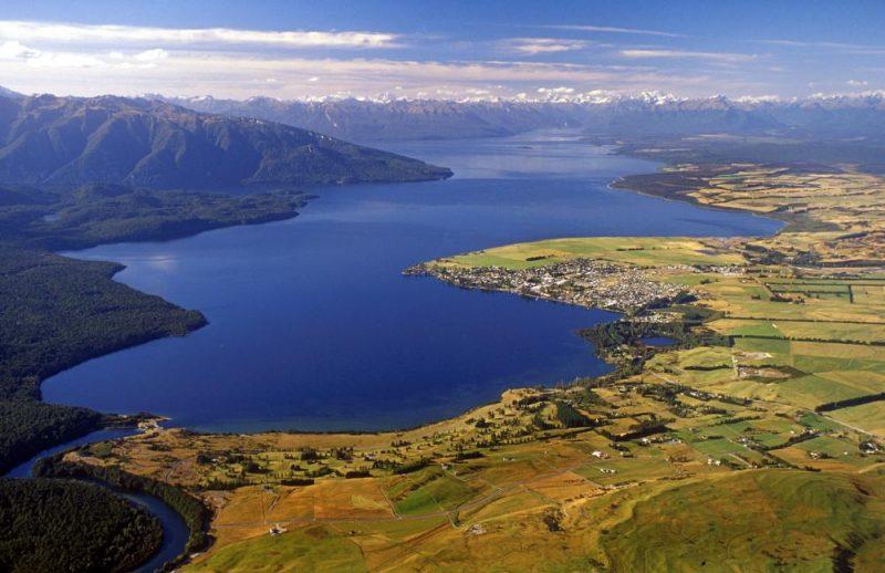 Te Anau Fiordland New Zealand