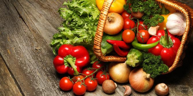 6 Buah Sayur
