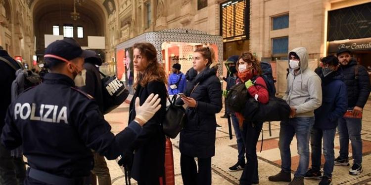 Penyebaran Virus Corona Melonjak Tinggi di Italia
