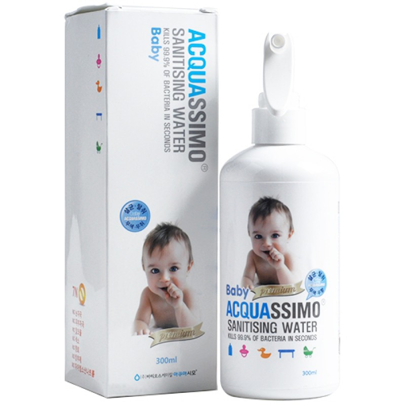Acquassimo Water Hand Sanitizer