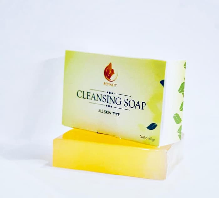 Royalty Cleaning Soap - sabun muka bebas jerawat