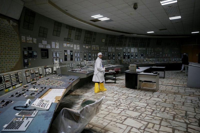 Ruangan Reaktor Nuklir Chernobyl