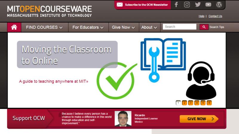 Mit Opencourseware Dari Massachusetts Institute Of Technology