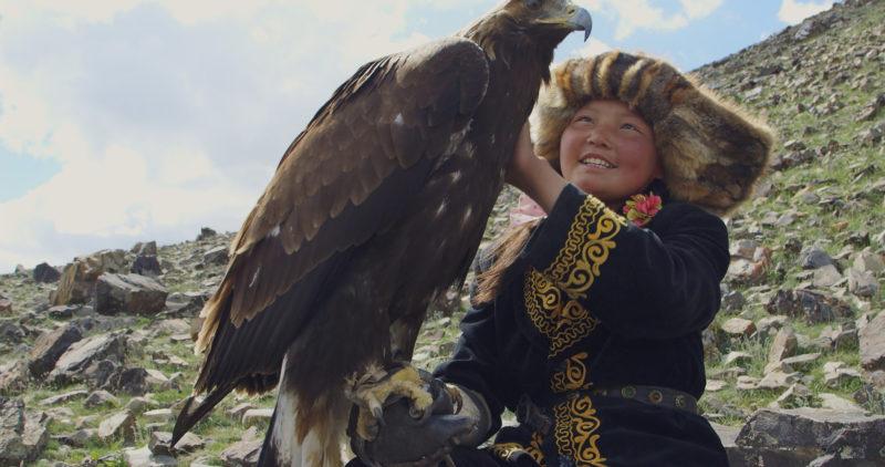 Anak Dari Suku Kazakh Dan Elangnya