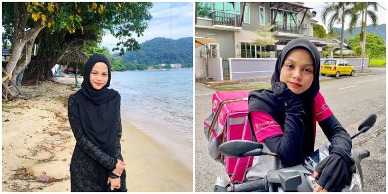 Cewek Pengantar Makanan Asal Malaysia Jadi Idola Para Warganet