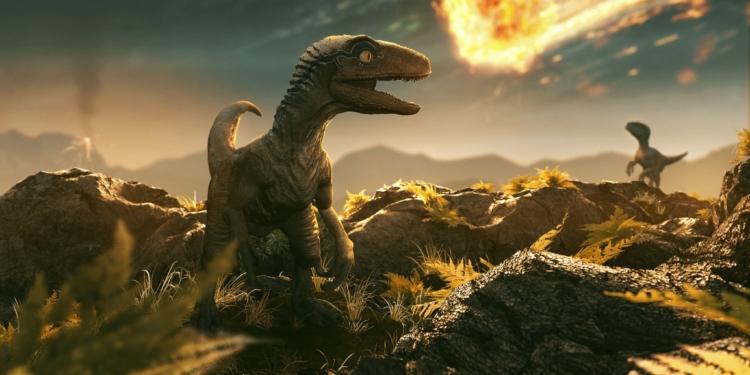 Ilustrasi Kepunahan Dinosaurus