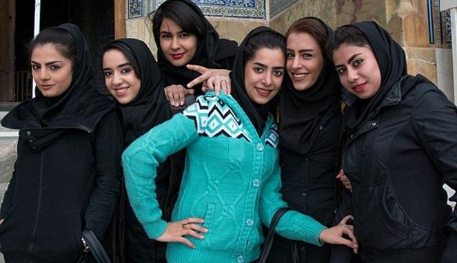 Kumpulan Wanita Cantik Iran