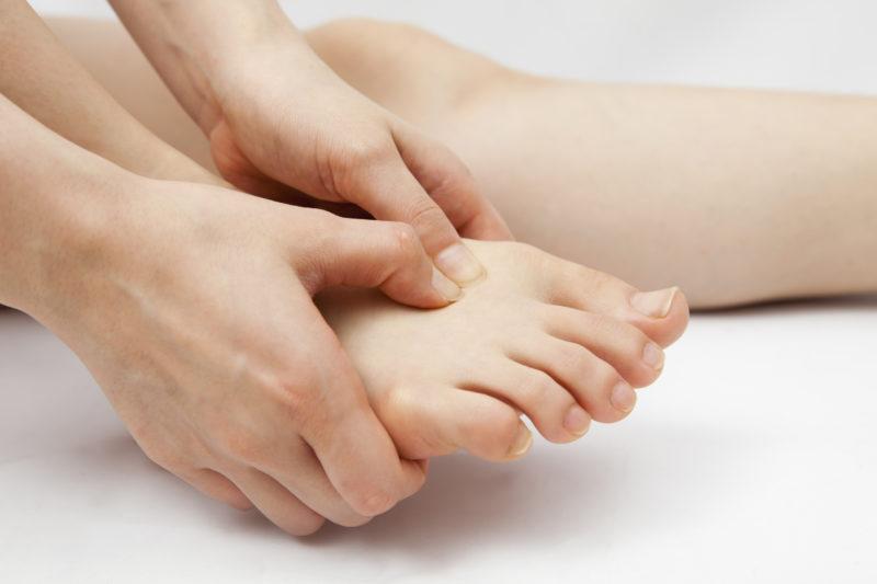 Menghilangkan rasa sakit pada kaki
