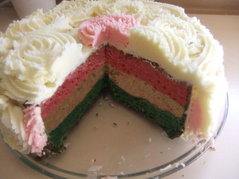 Kue Yang Telah Dipotong