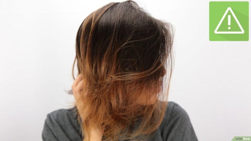 Ciri rambut rusak Rambut Mengembang
