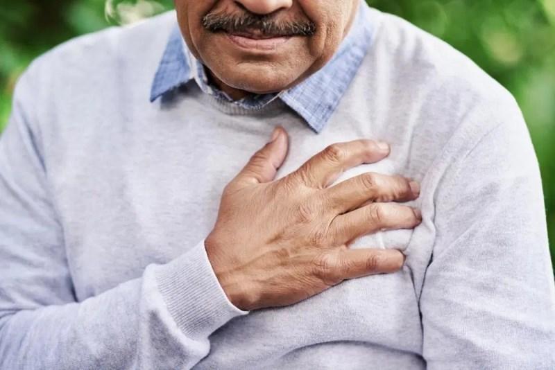 Man Has Cardiovascular Disease1
