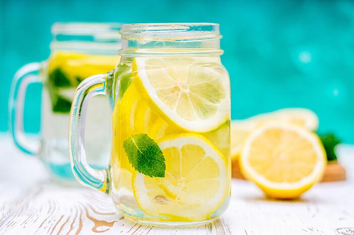 Berkumur Dengan Air Lemon