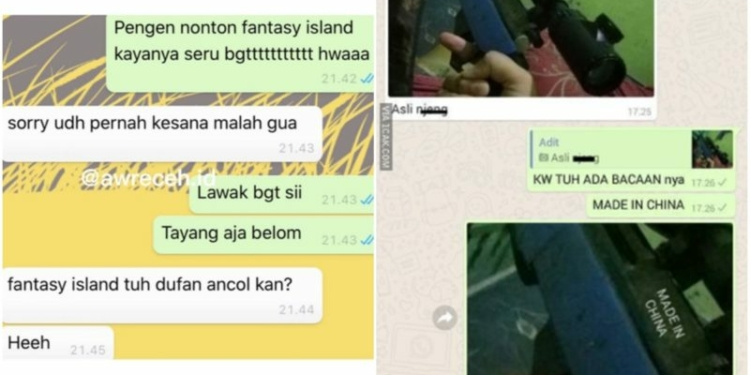 Chat Chat Koca Pengen Pamer Endingnya Ngakak Abis
