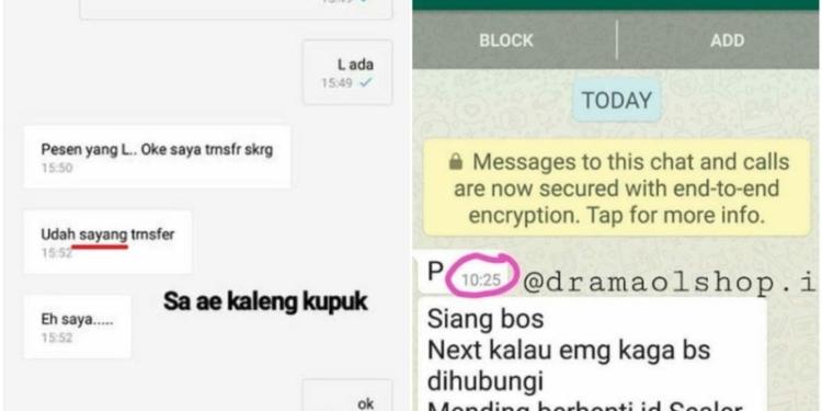 Chat Typo Antara Penjual Dan Pembeli
