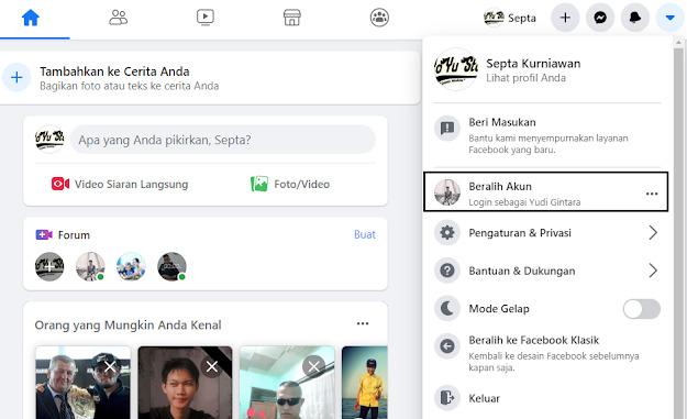Hapus Akun Facebook Di Laptop