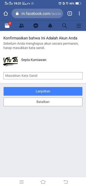 3 Cara Hapus Akun Facebook Sementara Dan Permanen Bebaspedia Com