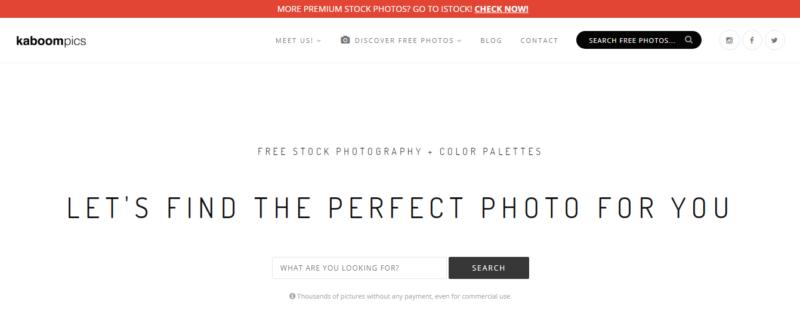 Situs download gambar di Kaboompics