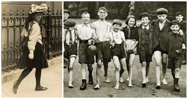 penampilan ABG remaja Inggris 100 tahun lalu