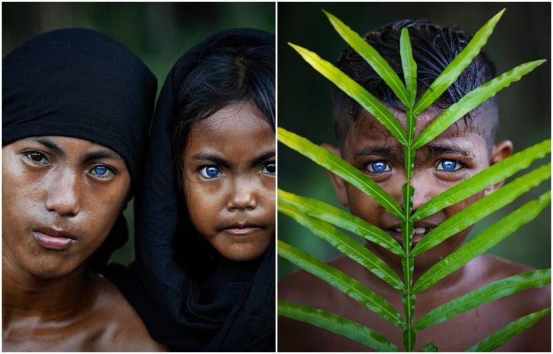 Anak Indonesia Yang Memiliki Warna Mata Biru