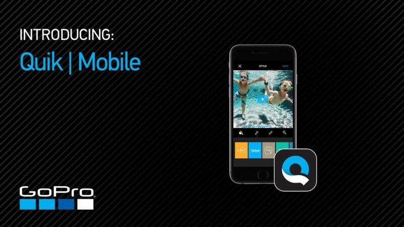 Aplikasi Edit Video Android Quik