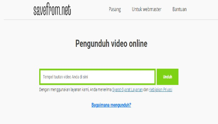 Download Video Youtube Di Savefromnet