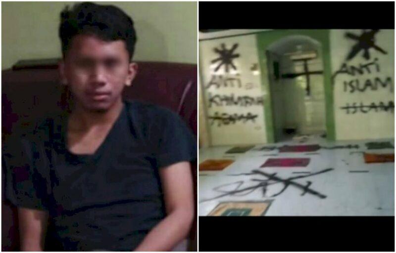 Pelaku Pengerusakan Mushalla Berhasil Ditangkap